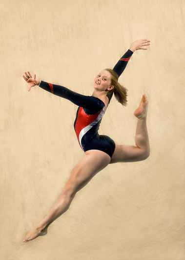 gymnast high school senior